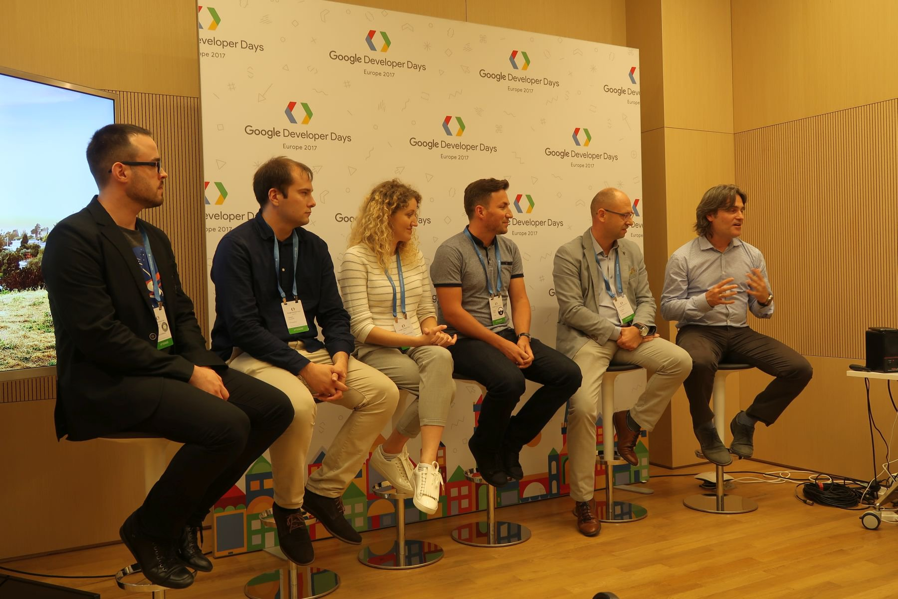 Discussion panel with experts about the growth of the Android ecosystem and the CEE partners