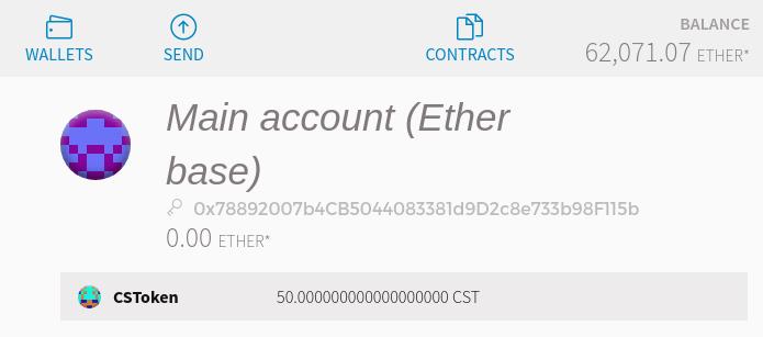 token account
