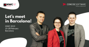 Meet Concise Software at MWC in Barcelona