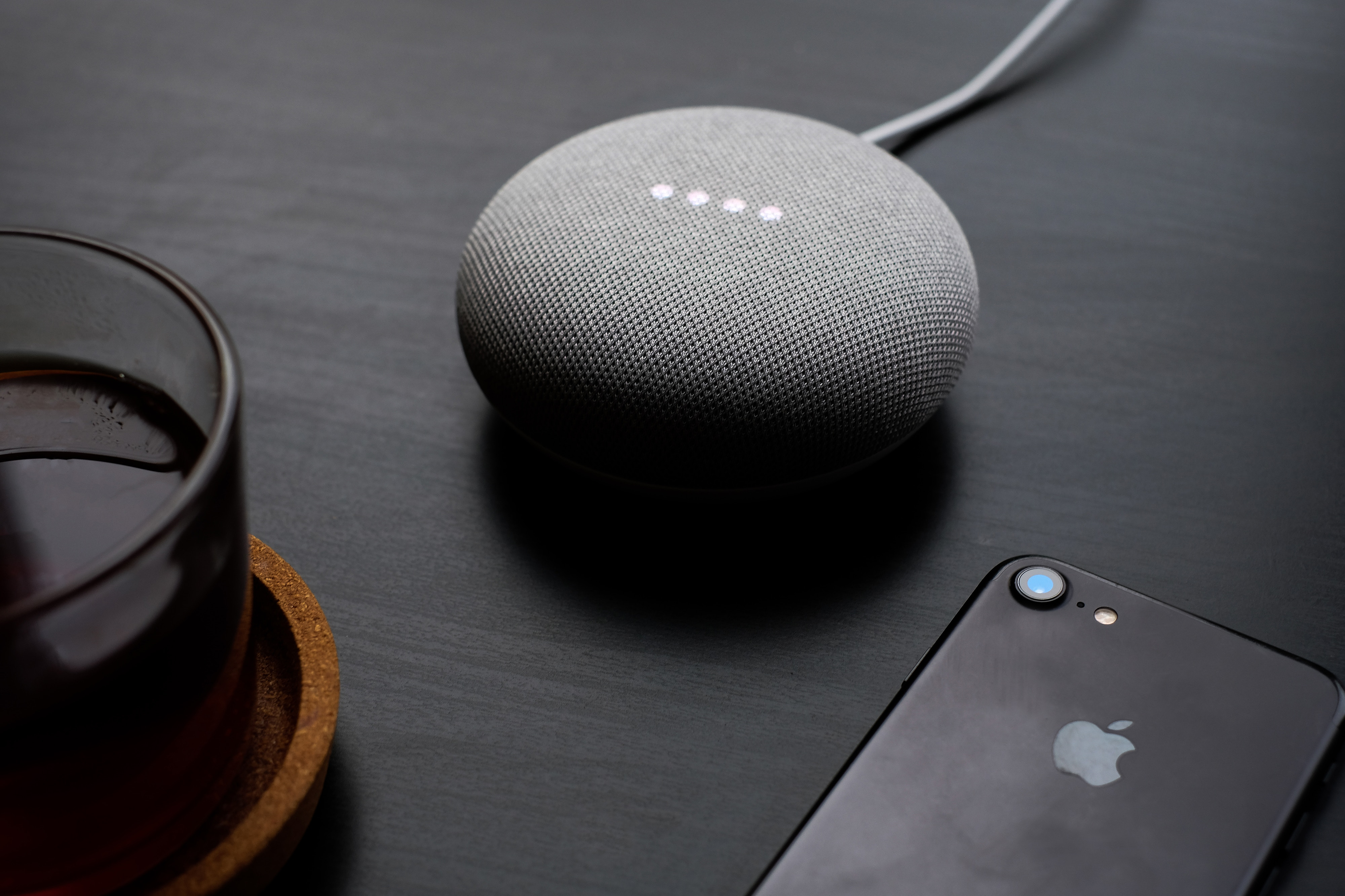 Google Home speakers equipped with Google Assistant