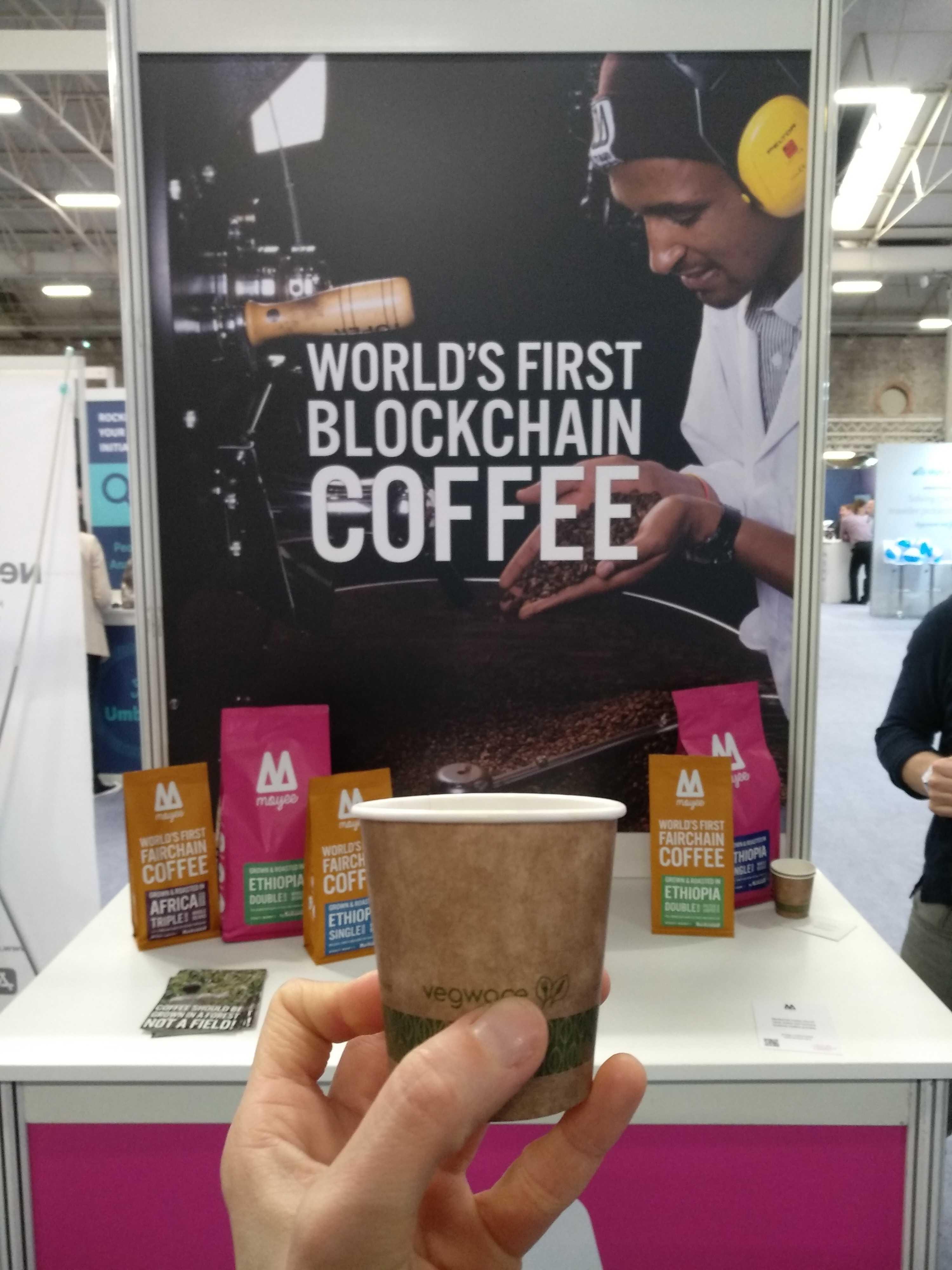 World's first blockchain coffee