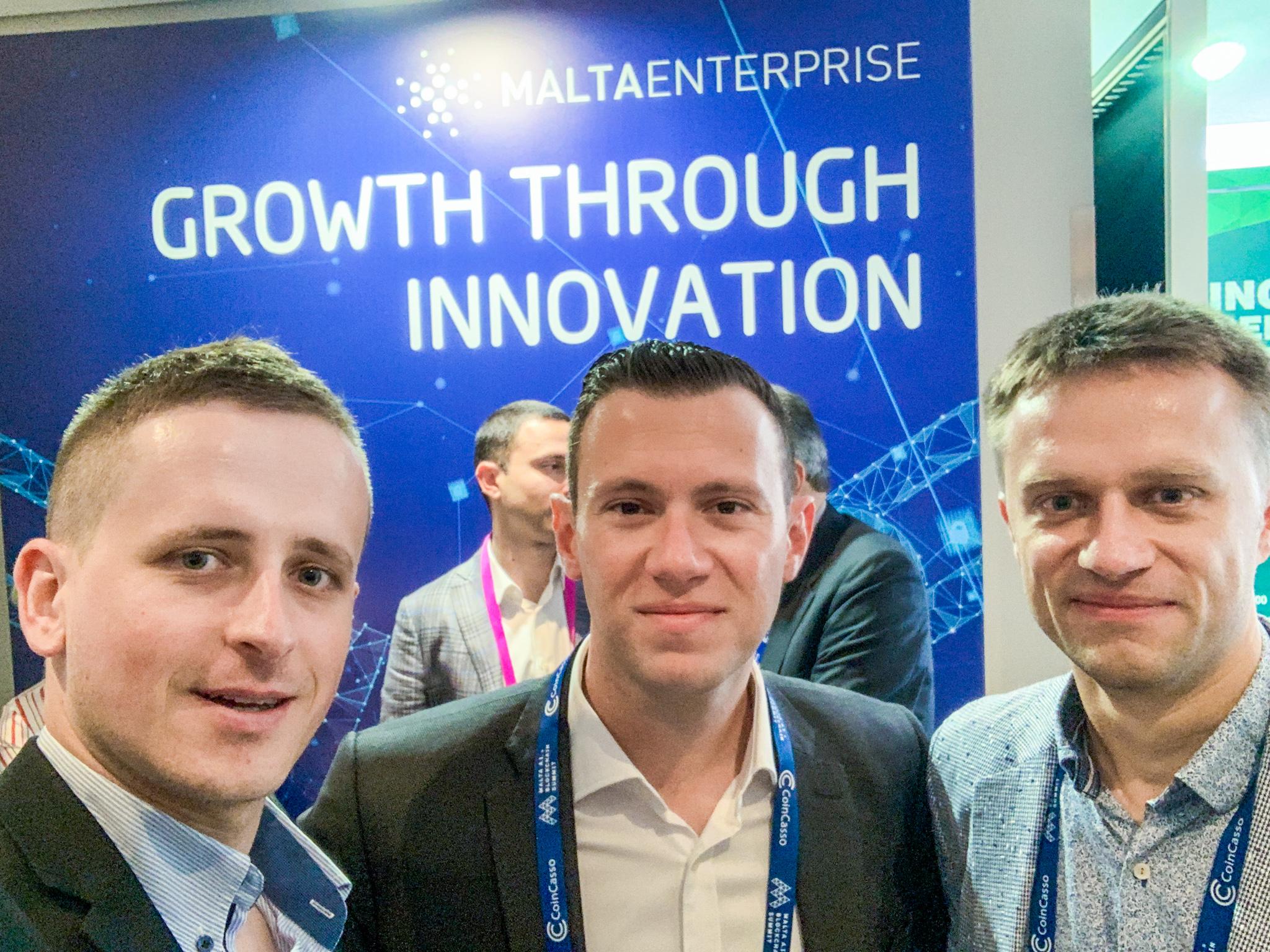 Concise Software & Scerri @ Malta AI & Blockchain Summit
