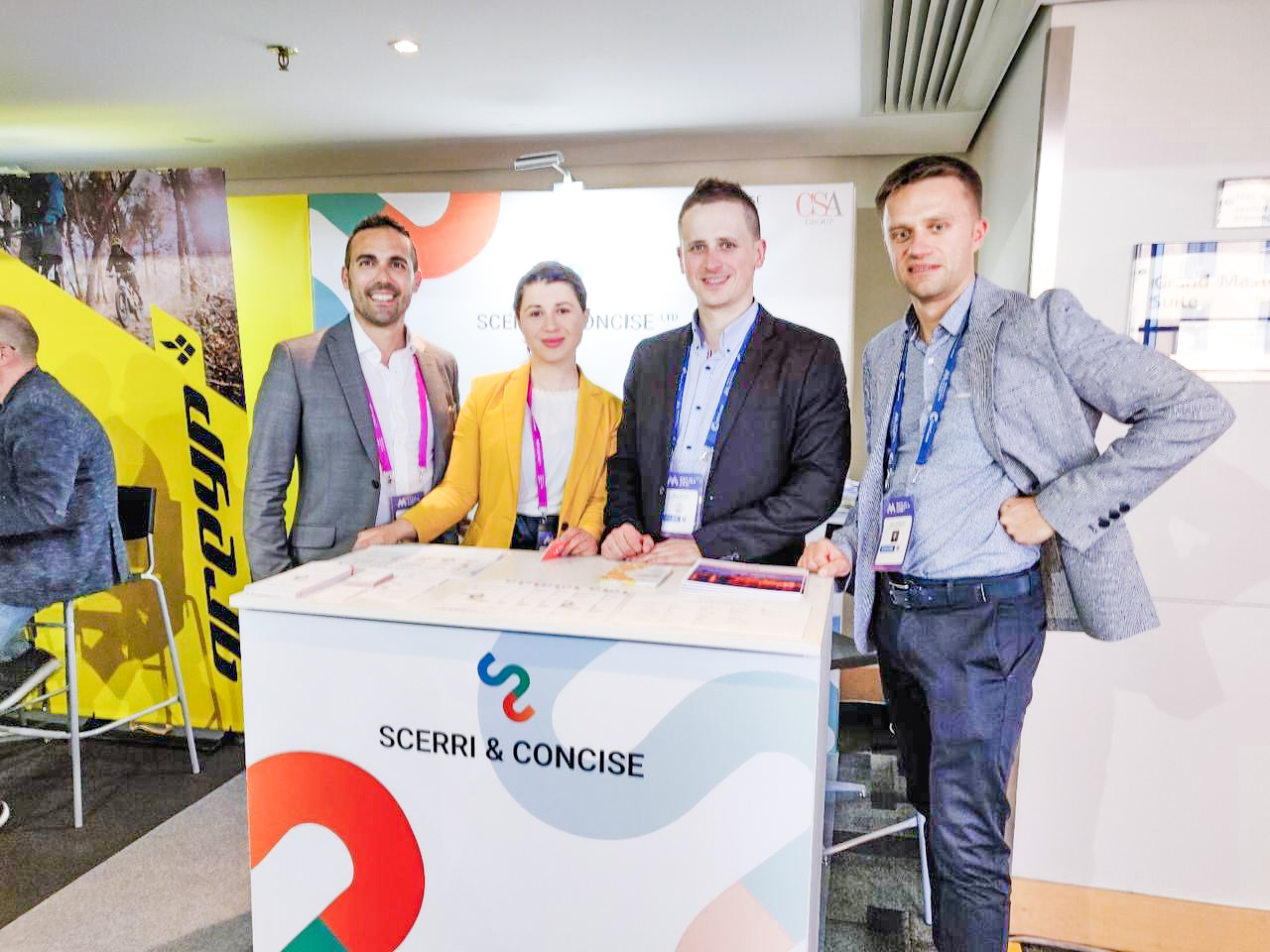 Concise Software & Scerri @ Malta AI & Blockchain Summit