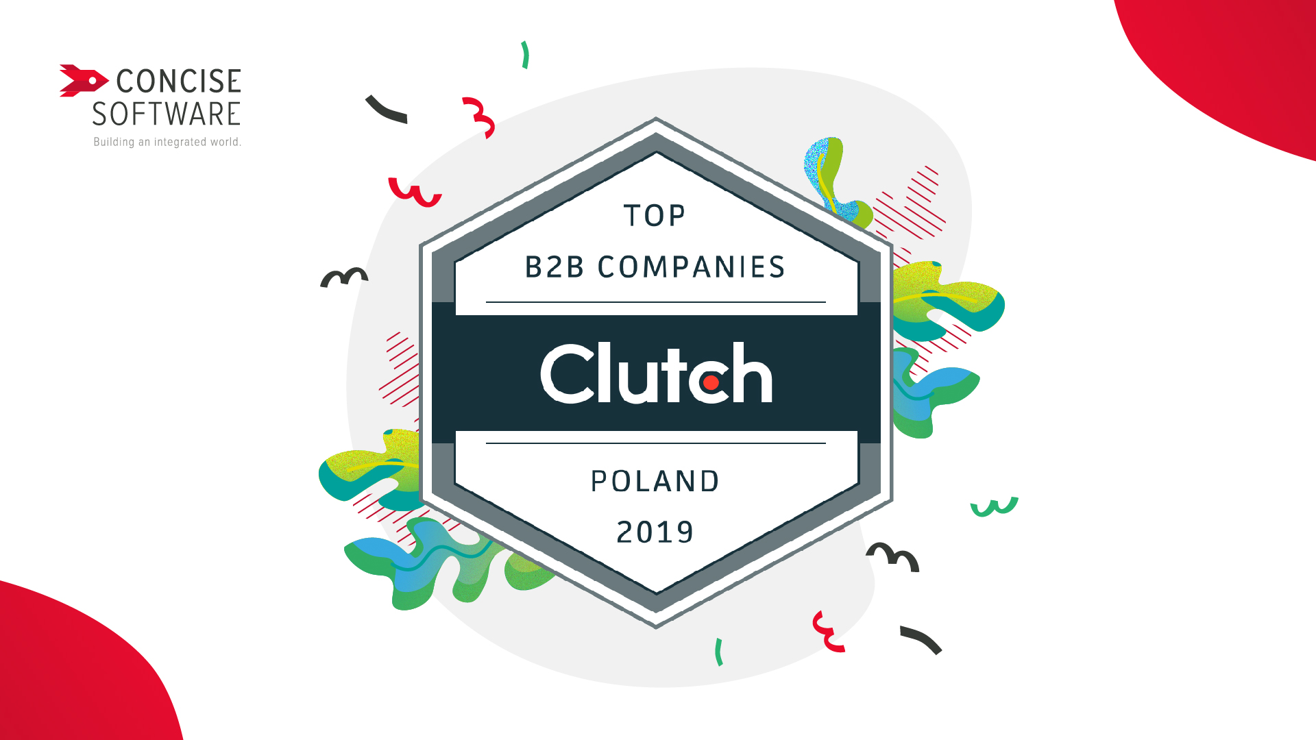 Concise Software awarded by Clutch as one of top B2P companies