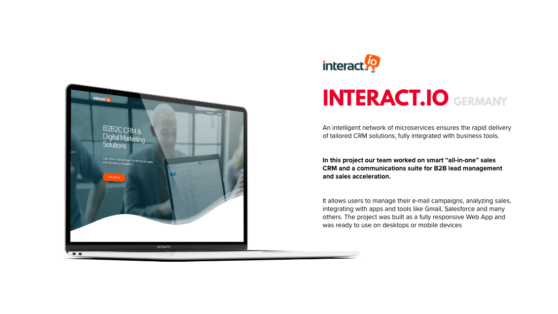 short case study about the INTERACT.IO project