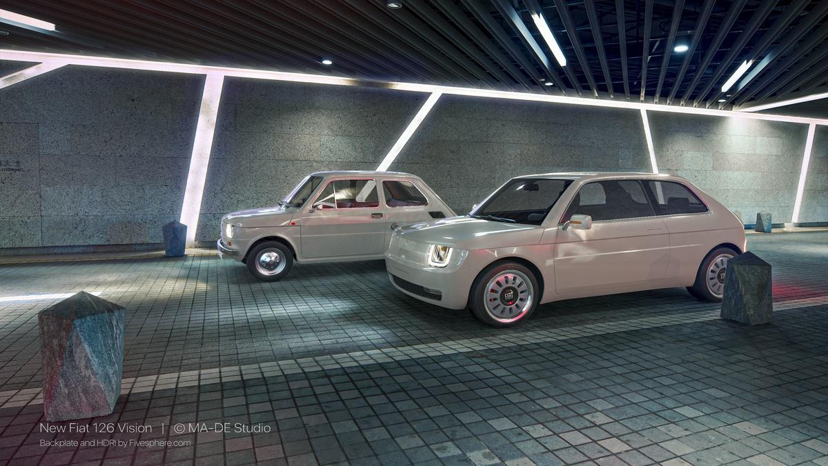 Fiat 126 Vision vs Fiat 126p