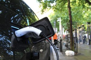 An extensive infrastructure of charging stations is needed to boost the usage of electric cars.