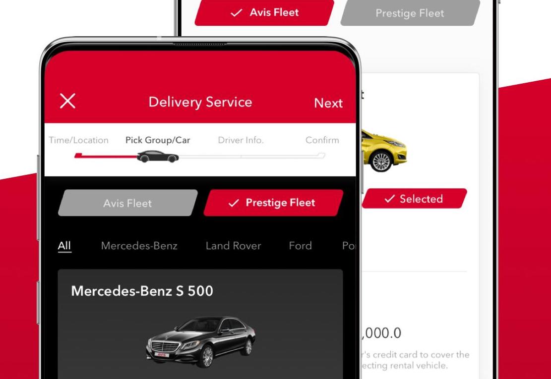 Best car rental apps on the market: Avis
