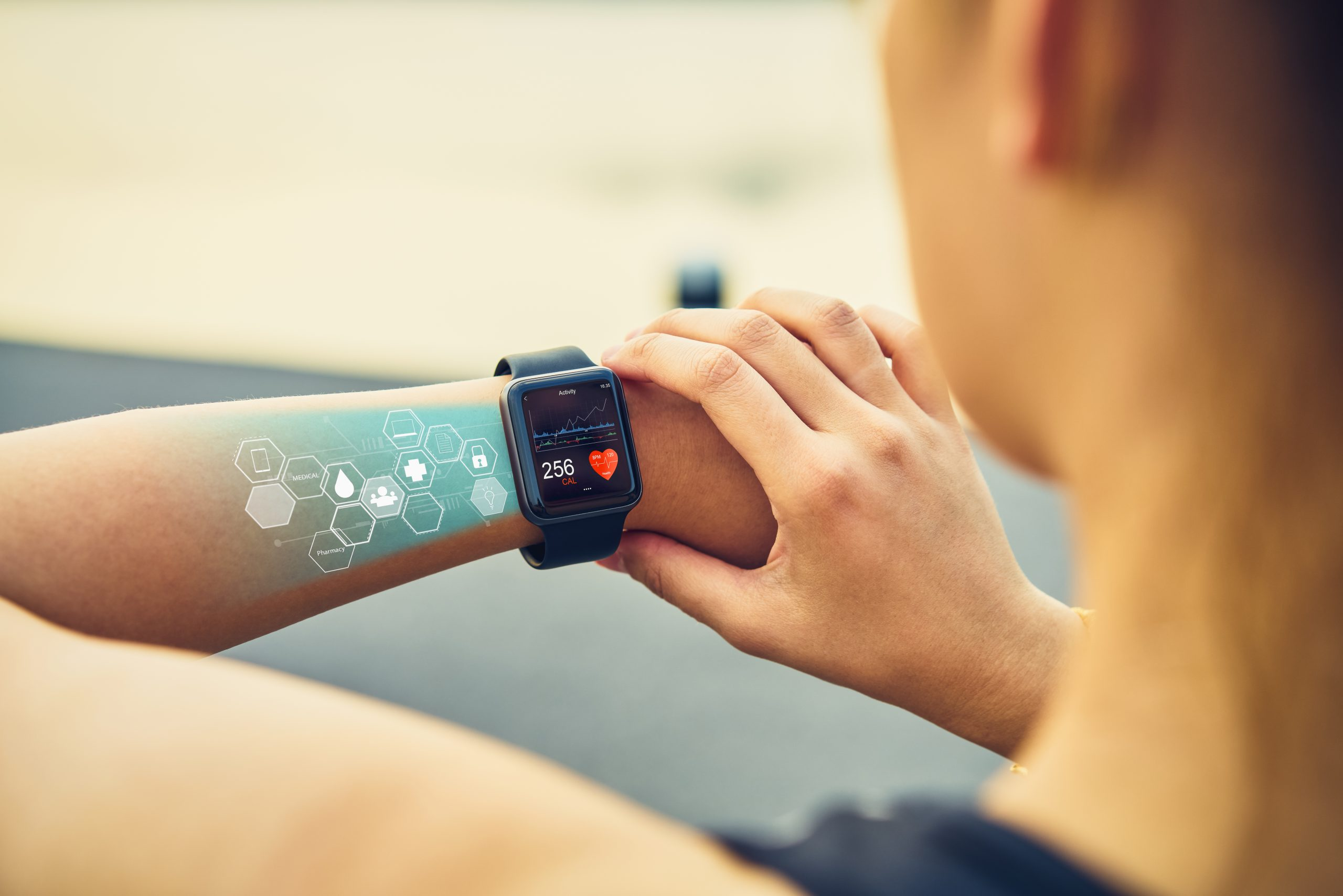 Smartwatch is one of medical wearable devices